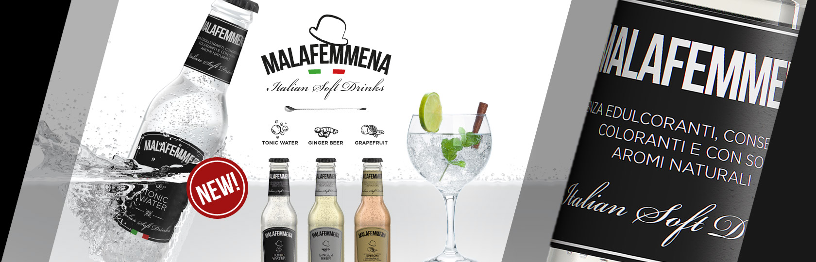 MALAFEMMENA iTALIAN SOFT DRINKS