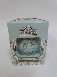 Ahmad Tea London - Magical Tea Elegant Baubles Earl Grey (puszka w kształcie bombki)