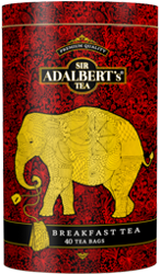Herbata Adalbert's English Breakfast Tea w puszce - 40 torebek