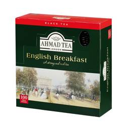 Herbata Ahmad English Breakfast 100tb kopert (alu)
