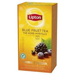 Herbata Lipton Blue Fruit Tea 25 kopert foliowych