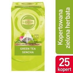 Herbata Lipton Green Tea 25 szt. koperty piramidki