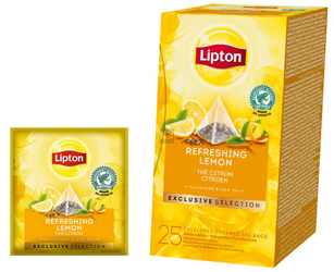 Herbata Lipton Lemon Tea 25 szt. koperty- piramidki