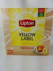 Herbata Lipton Yellow Label 1000 szt. koperty alu